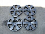 Set Of 4 Brand New 2007 08 09 10 2011 Camry 16 Hubcaps Wheel Covers 61137 Black