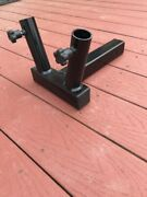 2 Hitch Mount - Dual Heavy Duty Flag Pole Holder -- Made In The Usa
