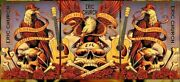 19 Eric Church Greenville Eagle 3 Concert Poster Matching Set 4/26 27 /50 S/n