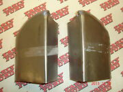 1948 1949 Early-1950 Ford Pickup Bed Rear Stake Pocket Brace Pair