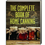 Complete Book Of Home Canning U.s. Department Of Agriculture Paperback