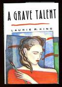 Laurie R King / A Grave Talent Signed 1st Edition 1993