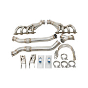 Cxracing Ls1 Engine T56 Trans Mount Header Downpipe For 86-91 Mazda Rx7 Fc Ls