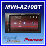 Pioneer Mvh-a210bt 6.2 Mechless Bluetooth Usb Aux Ipod Iphone Car Stereo 4x50