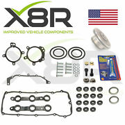 Bmw 7 Series E65 / E66 Double Twin Dual Vanos Seals Repair Set Kit With Gaskets