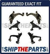 Land Rover Lr3 Upper Lower Front Rear Control Arms Ball Joints L+r Kit 6