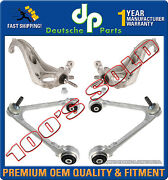 Lincoln Ls V6 V8 Upper And Lower Control Arms / Steering Knuckle Ball Joints Set 4