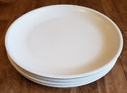 Set Of 4 Kenneth Cole Chic Er By The Dozen White - Dinner Plates Plate Set