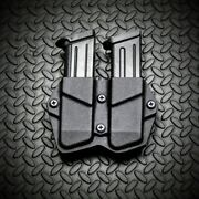 Springfield Xd Xdm 9mm 40sandw Kydex Double Mag Carrier Magazine Holster Pouch