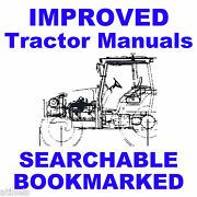 Massey Ferguson Mf 8200- 8240 And 8250 Tractor Service Parts Manual -2- Manuals Cd