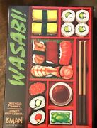 Wasabi Euro Board Game New In The Shrink Wrap Out Of Print Z-man Games