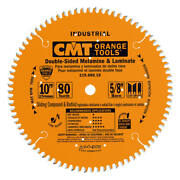 Cmt-industrial Sliding Compound Miter And Radial Saw Blade, 8-1/2-inch X 60 Teeth