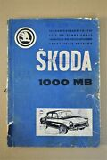 Vintage Car Skoda 1000 Mb List Of The Spare Parts 1967 A4 184 Pgs