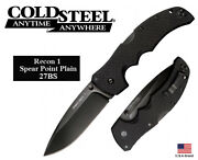 Cold Steel 4 Folding Knife Recon 1 Spear Point Cpm S35vn Steel Tri-ad Lock 27bs