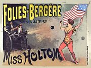 9023.decoration Poster.home Wall.room Design.decor.circus.holtom American Cannon