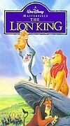 The Lion King Vhs, 1995