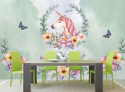 3d Butterfly Unicor A31 Wallpaper Wall Mural Removable Self-adhesive Sticker Zoe