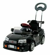 Oshide With Pedal-type Skyline Gt-r R34 Ride-on Car Toy 4985404025230