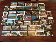 Vintage Postcards Lot Of 42 Random Colorado Pikes Peaks Royal Gourge And More