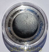 2019 Australia Domed Moon Astronomy 1oz Color Silver Coin 5 Earth Beyond Series