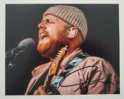 Tom Walker Signed 8x10 Photo Singer Songwriter What A Time To Be Alive Folk Rad