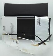 New Silhouette Eyeglasses Hinge C-2 5424 20 6051 23k Gold Plated And Brown Frame