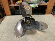V8 Yamaha Outboard 15 1/4 X 23 Right Hand Propeller 23p P6aw-45978-20-00