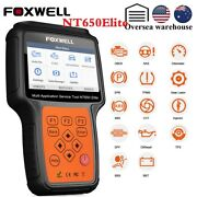 Obd2 Diagnostic Scanner Epb Sas Bms Dpf Abs Srs At Oil Reset Auto Code Read Tool