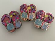 Disney Shopping Cinderella And Fairy Godmother Sandals Pin Le 250 Ap Prototype Set