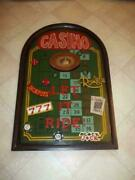 Extremely Rare Casino Games Roulette Blackjack Poker Old Antique 3d Wall Board