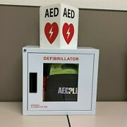 Zoll Aed Plus Kit- Alarm Cabinet+battery+case+electrode+cpr Kit+aed Sign