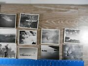 Vintage Ww2 Photo Unpublished 8th Air Force Aerial Planes Bag 11 100c