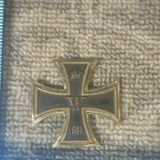 Vintage Ww1 Germany German Iron Cross First Class Medal Badge 93a