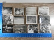 Vintage Ww2 Photo Unpublished 8th Air Force Aerial Planes Cities Bag 3 100c
