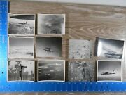 Vintage Ww2 Photo Unpublished 8th Air Force Aerial Planes Bag 9 100c