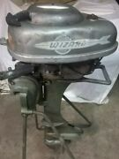 1951 By Mercury For Western-auto, Wizard Super 10 Outboard Motor
