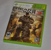Autographed Gears Of War 3 Xbox 360 Signed By Lead Development Team Epic Games