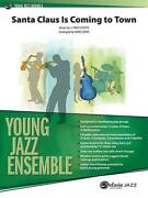 Santa Claus Is Coming To Town Jazz Ensemble Learn Play Music Set Score And Parts