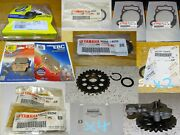 Lot Of New Misc Parts Motorcycle Yamaha Wr250f Yz250f Yz250fx And Used Oil Pump ++