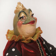 Queen Esmeralda Frog Doll By Katherine's Collection