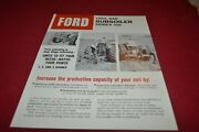 Ford Tractor 108 Subsoiler Dealers Brochure Amil15