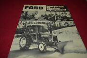 Ford Tractor Landscape Rakes And Blades Dealers Brochure Amil15