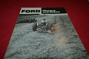 Ford Tractor Mowers And Rakes For 1970 Dealers Brochure Amil15