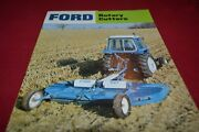 Ford Tractor 908 909 915 910 906 946 947 Rotary Cutter Dealers Brochure Amil15
