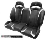 Pro Armor Le Racing Bench Seat Rear Suspension Seats P144s191wh White