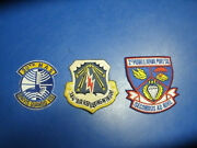 Lot Of 3 Airforce Patches 30th Mas,384th Refueling And 2nd Mobile Aerial Port