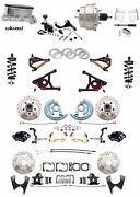 Chevelle / Gto Wilwood Disc Brake Conversion Chrome Pwr Kit A Arms Coil Overs