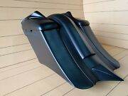 Extended 7 Down And Out Saddlebags/fender And 8 Lids For Harley 2014-2018