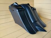 7down 14back Stretch Bags/fender,lids Included For Touring Bikes 97-2013 Flh