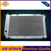 3 Rows Aluminum Radiator 1969-73 Ford Mustang/mercury Lincoln Many Cars 26 Core